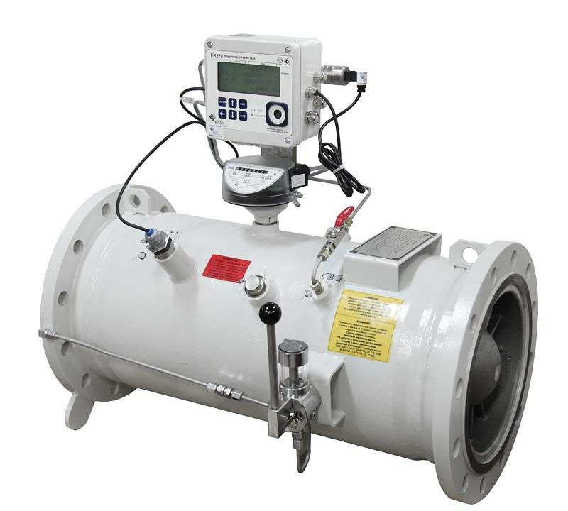 Комплекс для измерения количества газа СГ-ЭК-Т-1600/1,6 Ду=200мм